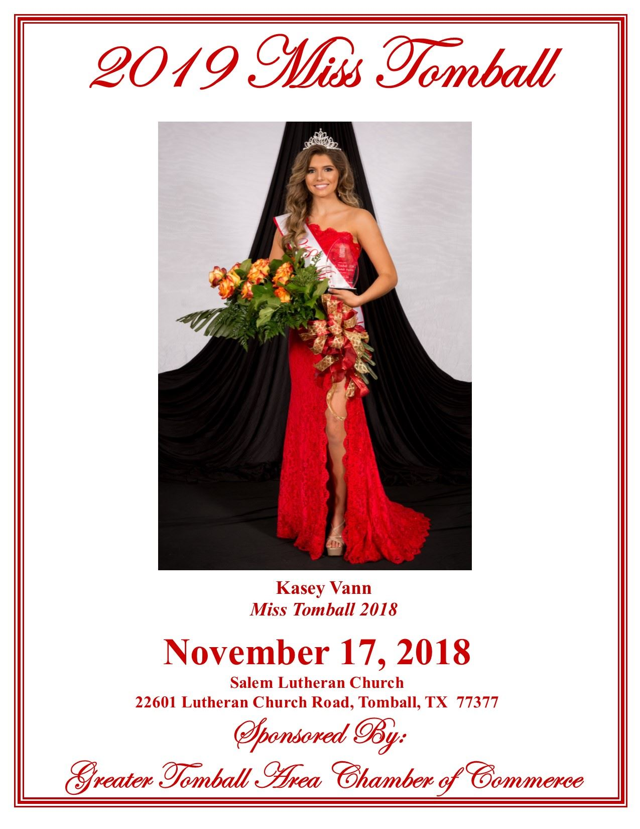 2019 Miss Tomball